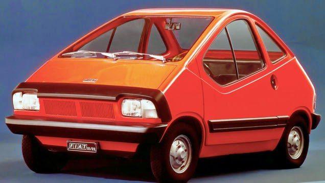 X1/23 CONCEPT, GIA' NEL 1976 LA FIAT AVEVA PRESENTATO UN'AUTO ELETTRICA