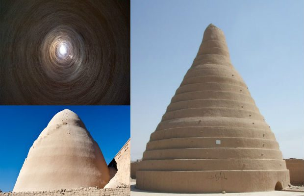 YAKHCHAL, L'EDIFICIO COL QUALE I PERSIANI CREAVANO GHIACCIO IN MEZZO AL DESERTO